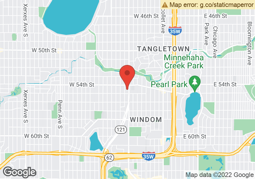 Google Map of 5428 LYNDALE AVE S