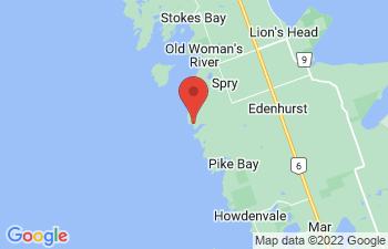 Map of Little Pike Bay