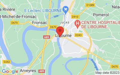 20 Quai du Priourat, 33500 Libourne, France