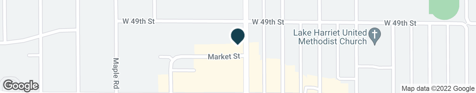Google Map of4916 FRANCE AVE S