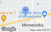 Map of Minnetonka, MN