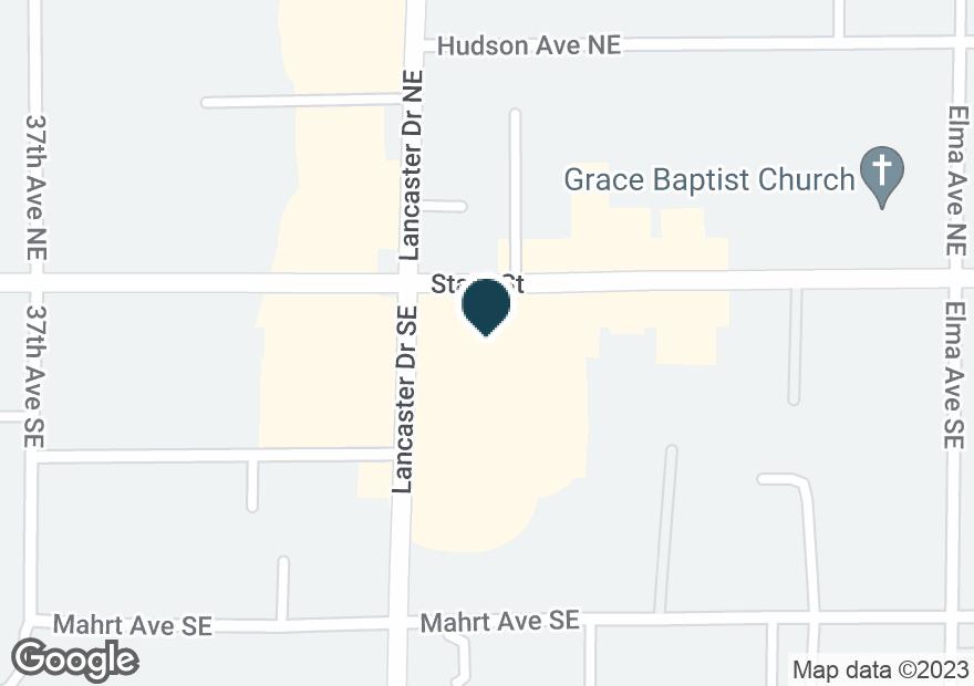 Google Map of124 LANCASTER DR SE
