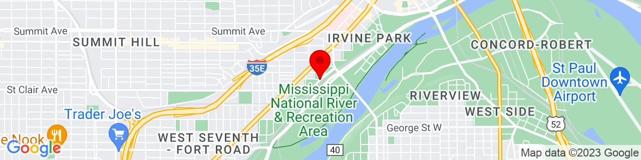 Google Map of 44.9354265, -93.11159289999999