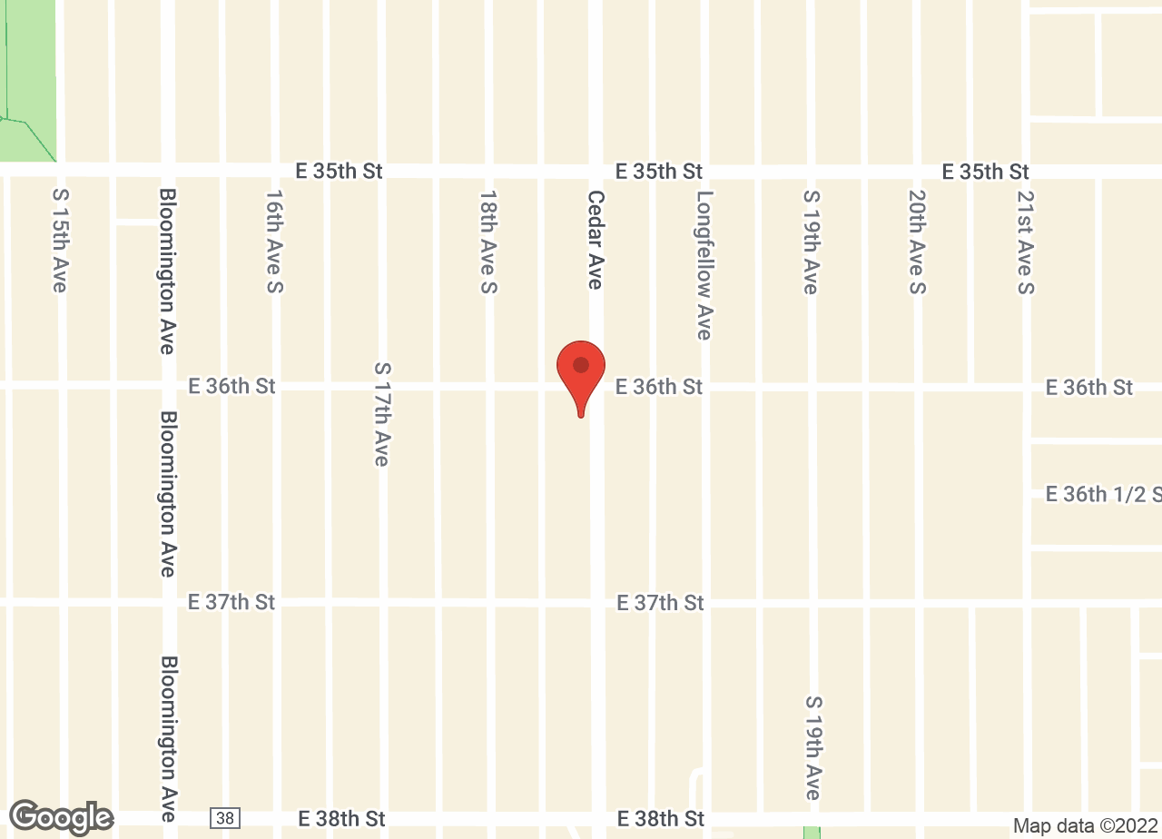 Google Map of VCA Cedar Animal Hospital