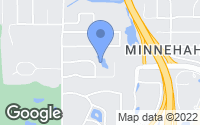 Map of Hopkins, MN