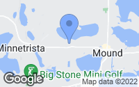 Map of Mound, MN