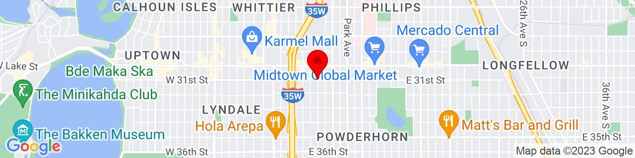 Google Map of 44.9466671, -93.270293