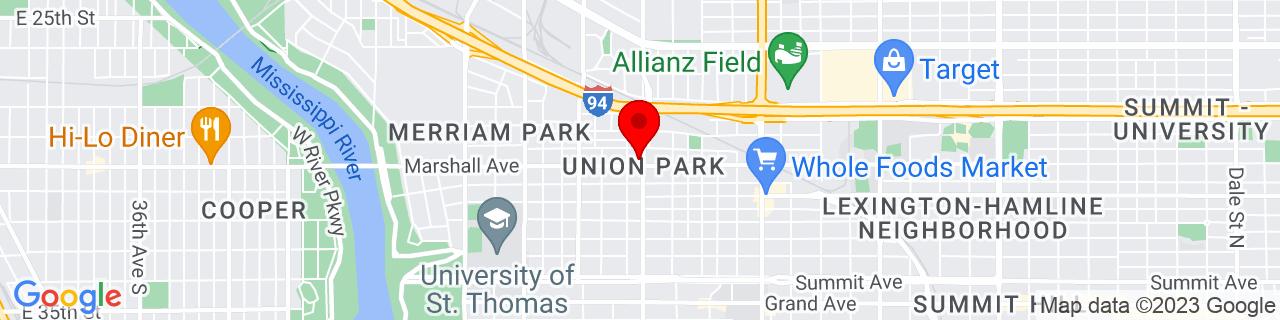 Google Map of 44.948749, -93.17753069999999
