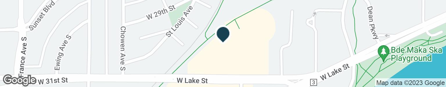 Google Map of3240 W LAKE ST