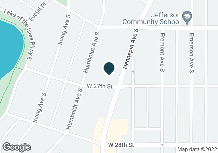 Google Map of2650 HENNEPIN AVENUE