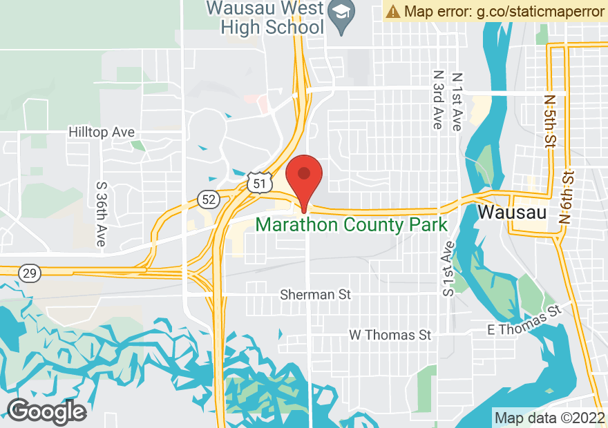 Google Map of 504 S 17TH AVE