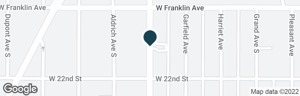 Google Map of2100 LYNDALE AVE S