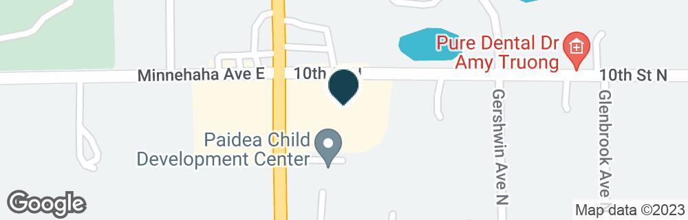 Google Map of985 GENEVA AVE N