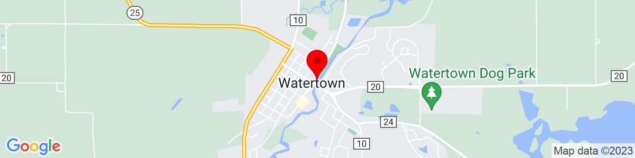 Google Map of 44.964033, -93.8463249
