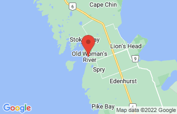 Map of Myles Bay