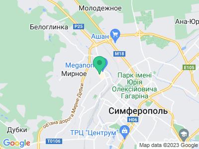 Схема проезда Крымский Фестиваль Кофе 2019