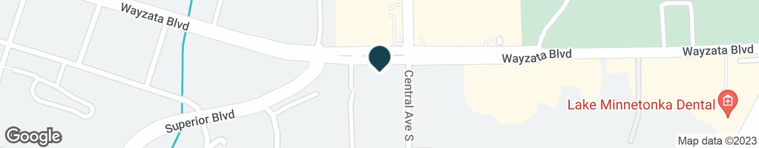 Google Map of1055 WAYZATA BLVD E