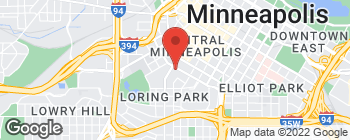Map of 1200 Nicollet Mall in Minneapolis
