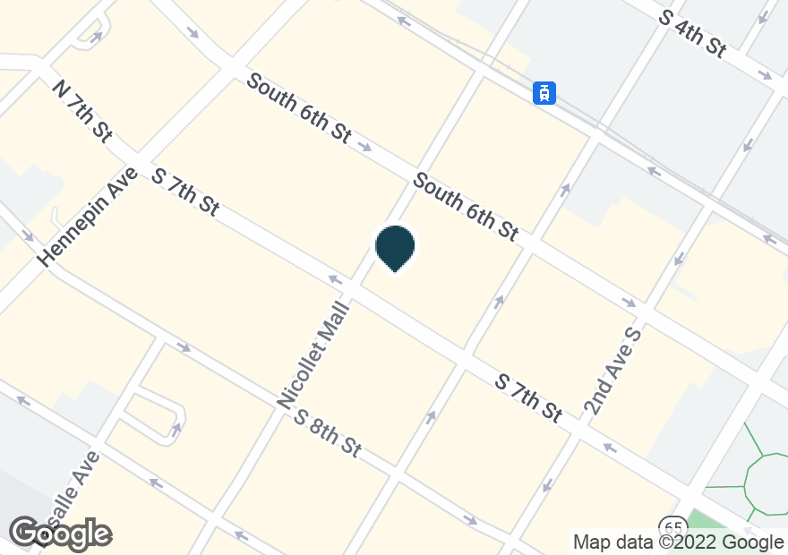 Google Map of655 NICOLLET MALL