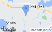 Map of Long Lake, MN