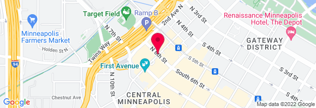 Map for Target Center