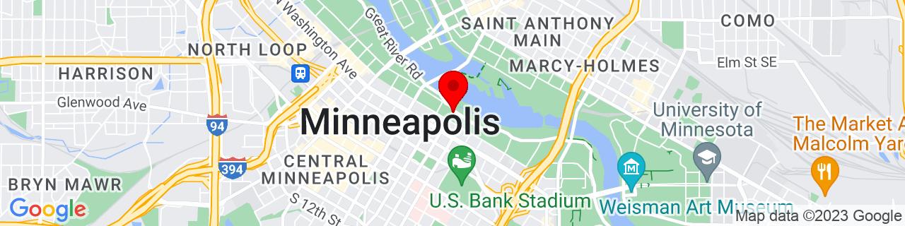 Google Map of 44.9798745, -93.25859779999999