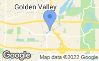 Map of Golden Valley, MN