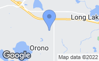 Map of Orono, MN