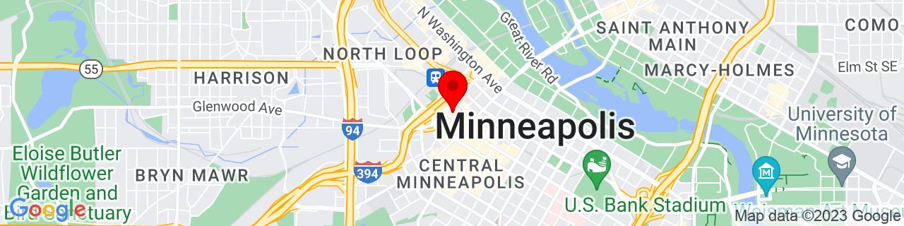 Google Map of 44.9802326, -93.2750719