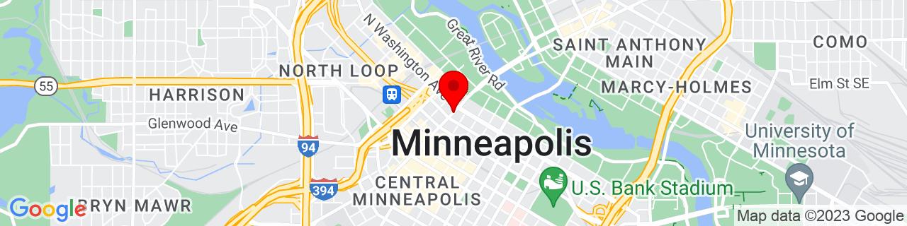 Google Map of 44.9816581, -93.2696242