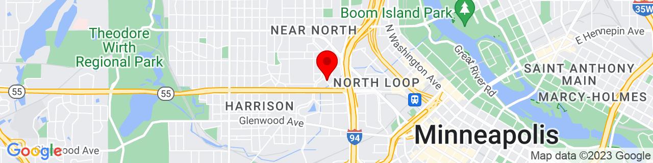 Google Map of 44.9854972, -93.29189869999999