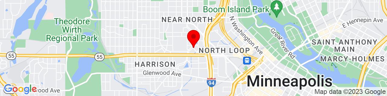 Google Map of 44.9857805, -93.2923084
