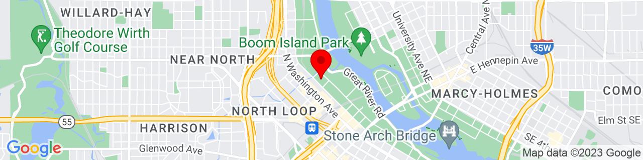 Google Map of 44.98914200000001, -93.2755471