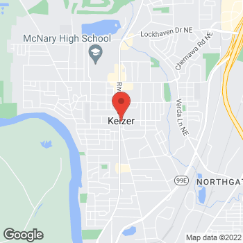 Map of Arby's at 4510 River Rd N, Keizer, OR 97303
