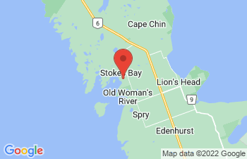 Map of Stokes Bay