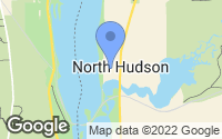 Map of Hudson, WI