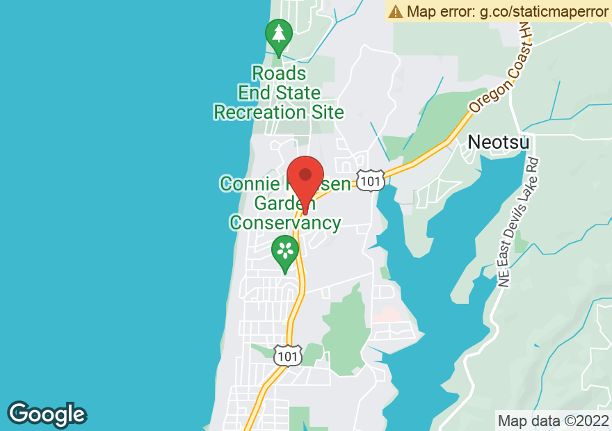 Google Map of 4048 NE HIGHWAY 101