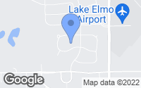 Map of Lake Elmo, MN