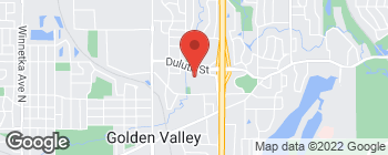 Map of 5801 Duluth St in Golden Valley
