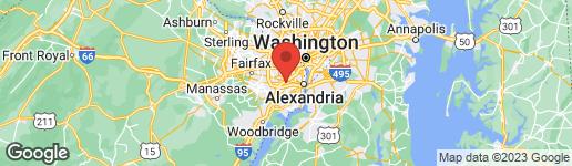 Map of 440 CLAYTON LANE ALEXANDRIA, VA 22304