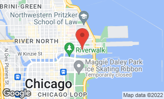 Map of 440 North Mcclurg Court #722 CHICAGO, IL 60611