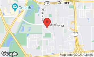 Map of 4400 Elm Road GURNEE, IL 60031
