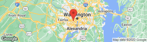 Map of 4400 PERSHING DRIVE N #44003 ARLINGTON, VA 22203
