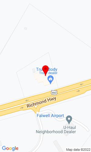 Google Map of Truck Body Company LLC 4401 Richmond Hwy, Lynchburg, VA, 24506