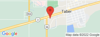 Google Map of 4402+-+46+Avenue%2CTaber%2CAlberta+T1G+2A4