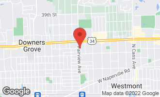 Map of 4403 Fairview Avenue DOWNERS GROVE, IL 60515