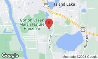Map of 4403 Roberts Road ISLAND LAKE, IL 60042