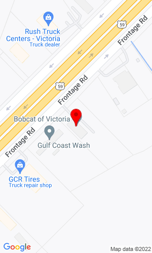 Google Map of Bobcat of Victoria 4404 Us 59 North, Victoria, TX, 77905