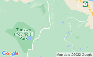 Map of Tunkwa Lake Resort