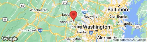 Map of 44054 FERNCLIFF TERRACE ASHBURN, VA 20147